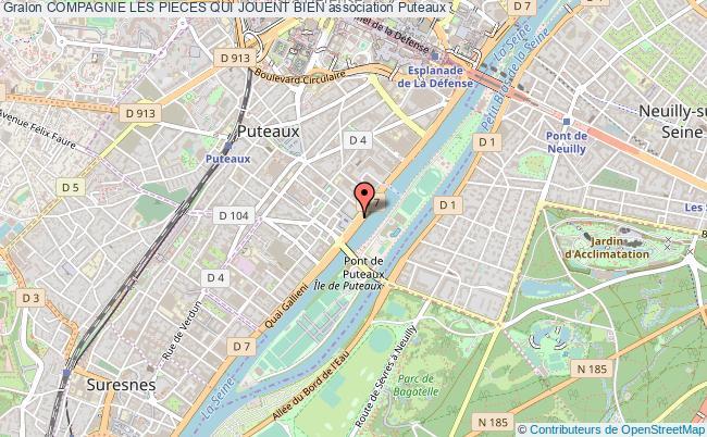 plan association Compagnie Les Pieces Qui Jouent Bien