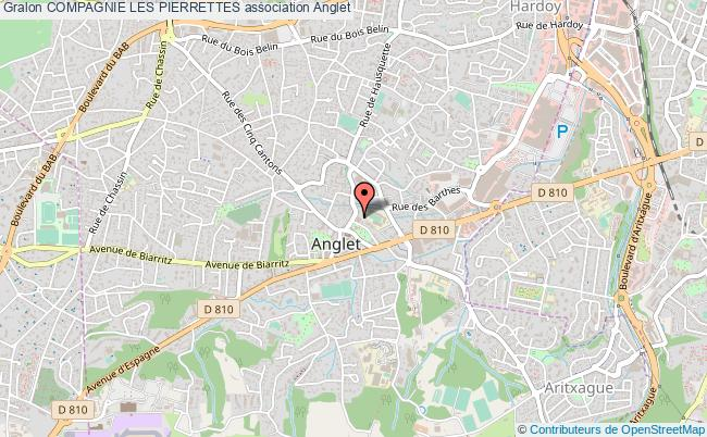 plan association Compagnie Les Pierrettes