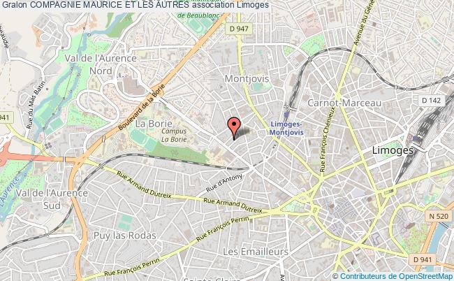 plan association Compagnie Maurice Et Les Autres
