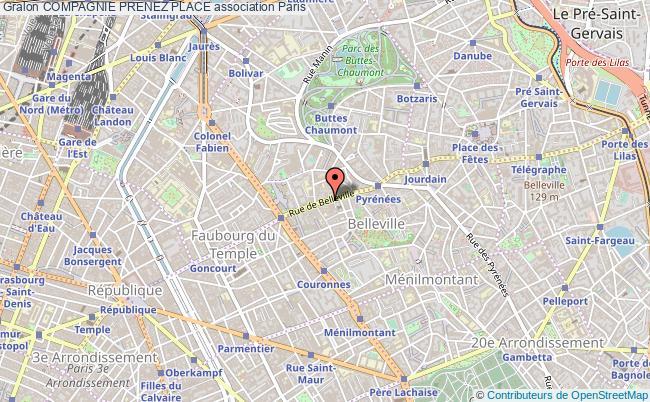 plan association Compagnie Prenez Place Paris