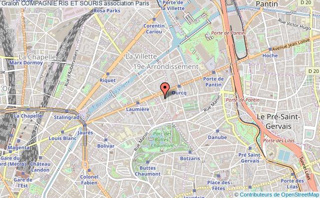 plan association Compagnie Ris Et Souris