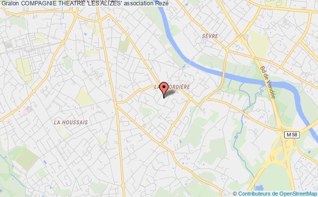plan association Compagnie Theatre 'les Alizes'