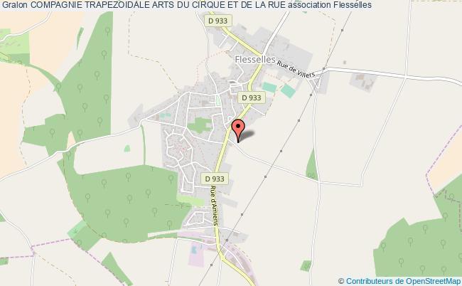 plan association Compagnie Trapezoidale Arts Du Cirque Et De La Rue