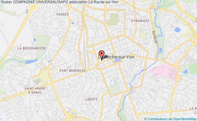 plan association Compagnie Universalisapo La    Roche-sur-Yon
