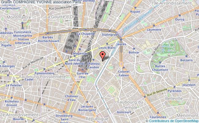 plan association Compagnie Yvonne