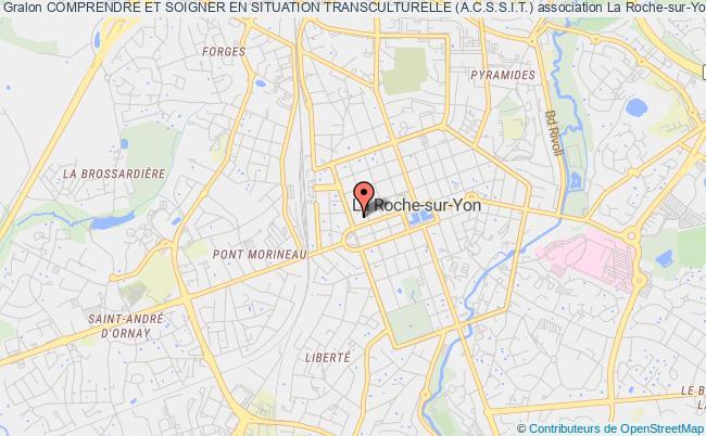 plan association Comprendre Et Soigner En Situation Transculturelle (a.c.s.s.i.t.) La    Roche-sur-Yon