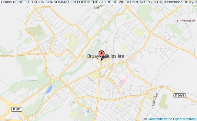 plan association Confederation Consommation Logement Cadre De Vie Du Bruaysis (clcv)