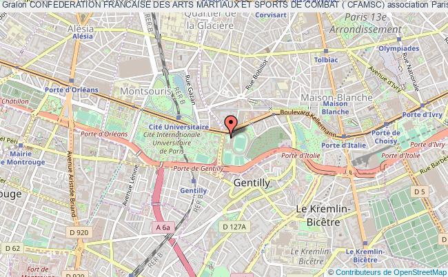 plan association Confederation Francaise Des Arts Martiaux Et Sports De Combat ( Cfamsc)