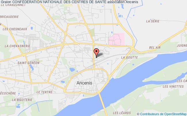 plan association ConfÉdÉration Nationale Des Centres De SantÉ