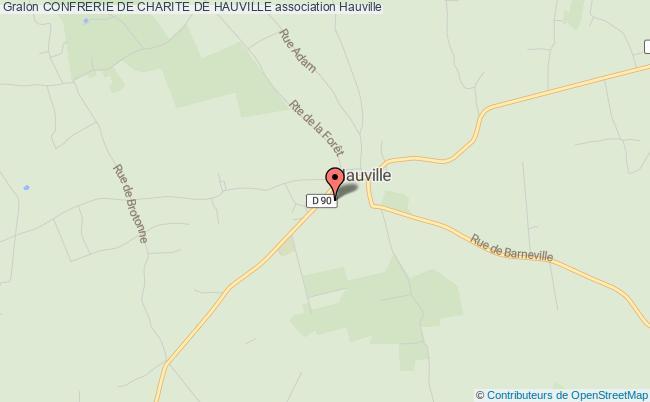 plan association Confrerie De Charite De Hauville Hauville