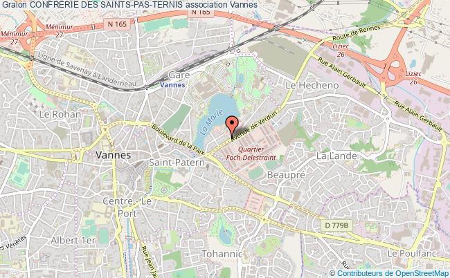 plan association Confrerie Des Saints-pas-ternis