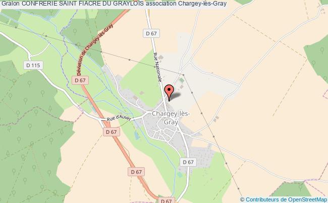 plan association Confrerie Saint Fiacre Du Graylois