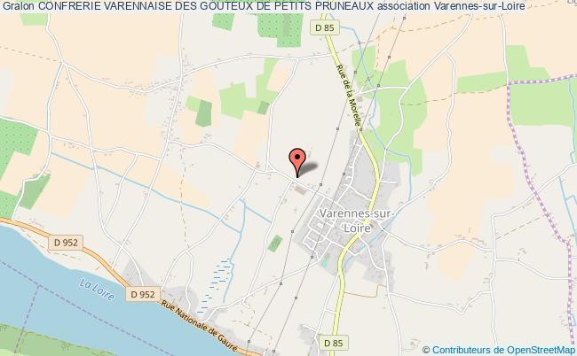 plan association Confrerie Varennaise Des Gouteux De Petits Pruneaux