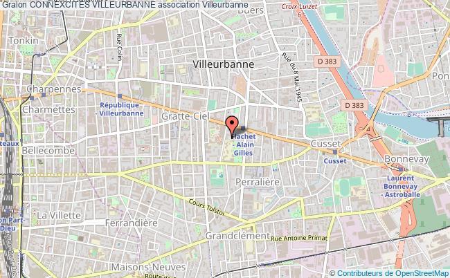 plan association Connexcites Villeurbanne