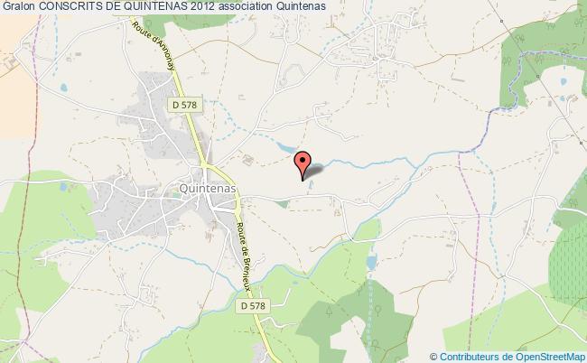 plan association Conscrits De Quintenas 2012