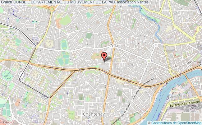 plan association Conseil Departemental Du Mouvement De La Paix