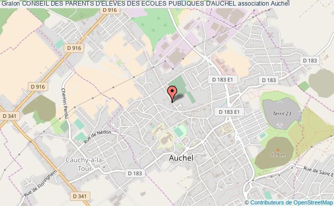 plan association Conseil Des Parents D'eleves Des Ecoles Publiques D'auchel