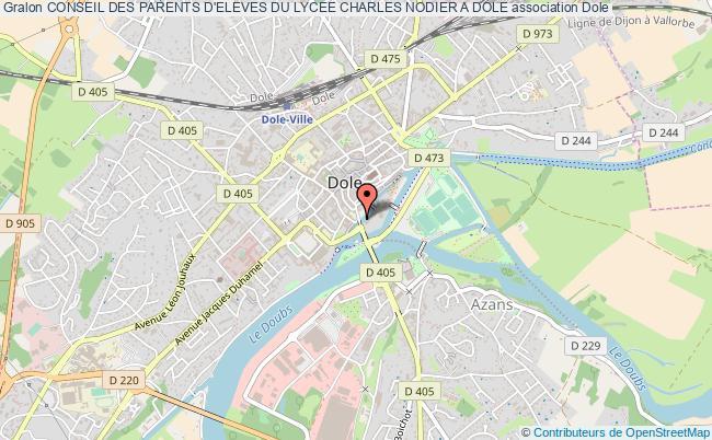 plan association Conseil Des Parents D'eleves Du Lycee Charles Nodier A Dole Dole