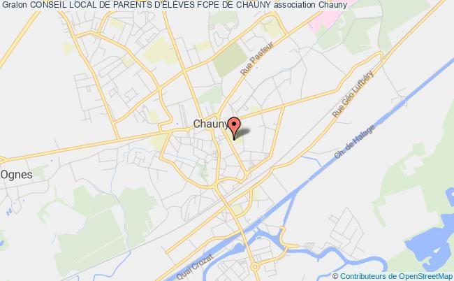 plan association Conseil Local De Parents D'ÉlÈves Fcpe De Chauny