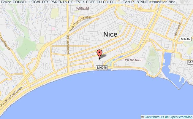 plan association Conseil Local Des Parents D'eleves Fcpe Du College Jean Rostand