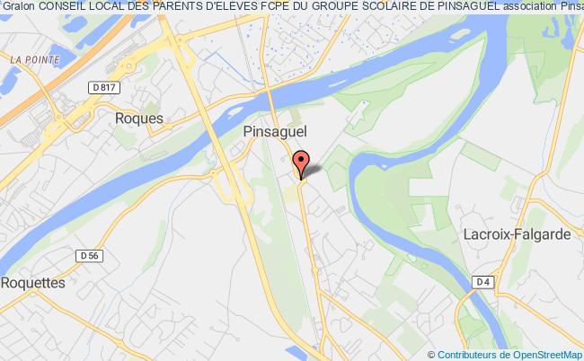 plan association Conseil Local Des Parents D'eleves Fcpe Du Groupe Scolaire De Pinsaguel