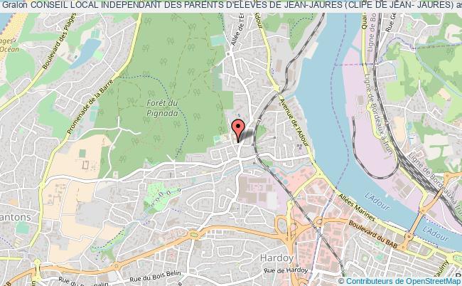 plan association Conseil Local Independant Des Parents D'eleves De Jean-jaures (clipe De Jean- Jaures)