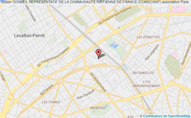 plan association Conseil Representatif De La Communaute Haitienne De France (corecohf)