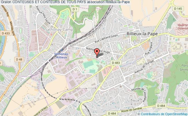 plan association Conteuses Et Conteurs De Tous Pays