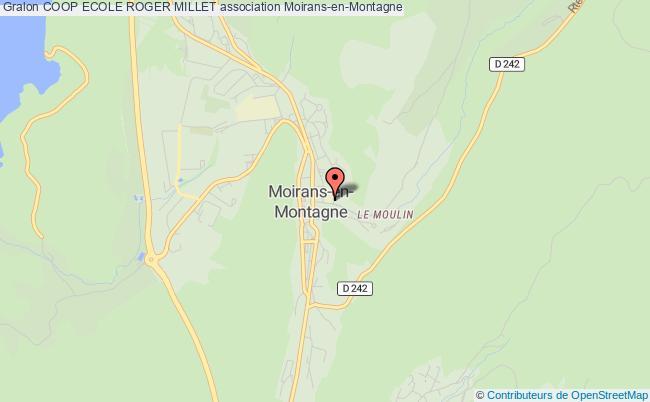 plan association Coop Ecole Roger Millet