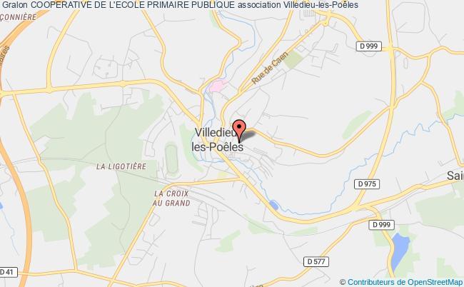 plan association Cooperative De L'ecole Primaire Publique Villedieu-les-Poêles