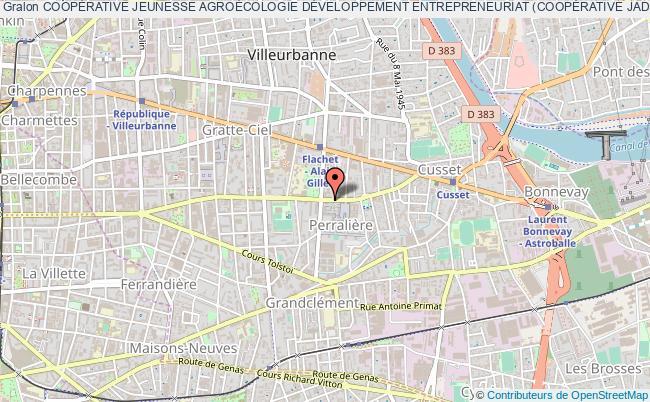 plan association CoopÉrative Jeunesse AgroÉcologie DÉveloppement Entrepreneuriat (coopÉrative Jade)