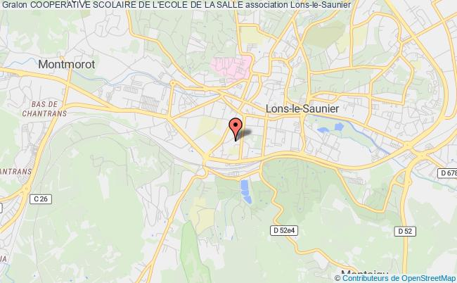 plan association Cooperative Scolaire De L'ecole De La Salle