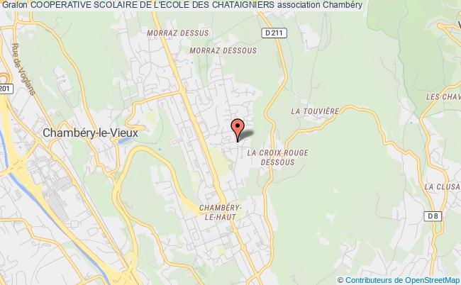 plan association Cooperative Scolaire De L'ecole Des Chataigniers