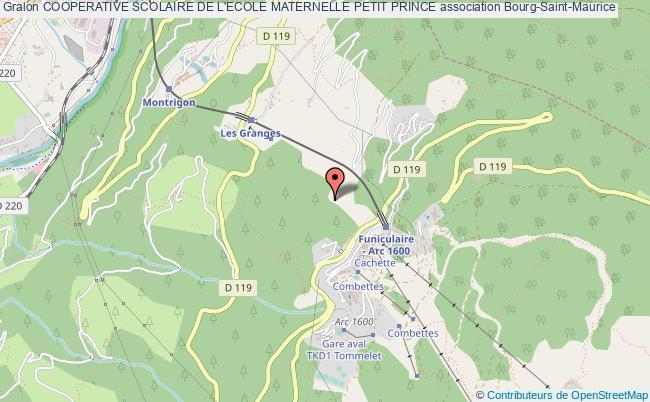 plan association Cooperative Scolaire De L'ecole Maternelle Petit Prince