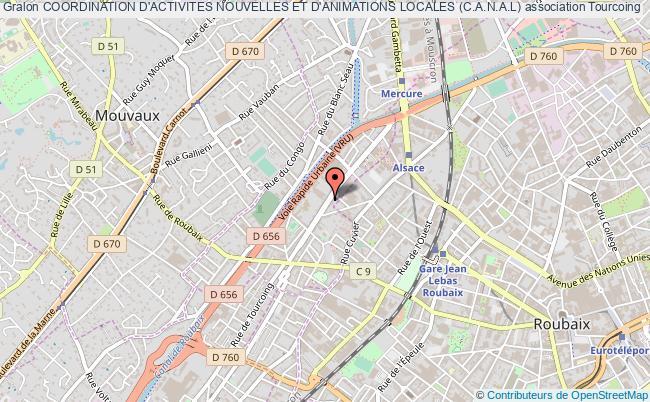 plan association Coordination D'activites Nouvelles Et D'animations Locales (c.a.n.a.l)
