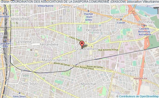 plan association Coordination Des Associations De La Diaspora Comorienne (diascom)