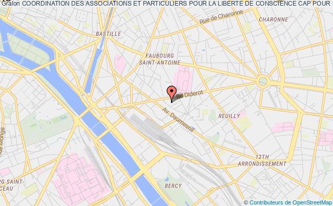 plan association Coordination Des Associations Et Particuliers Pour La Liberte De Conscience Cap Pour La Liberte De Conscience Paris