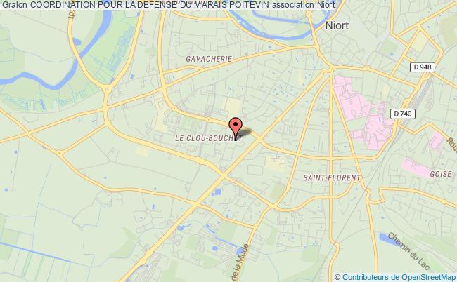 plan association Coordination Pour La Defense Du Marais Poitevin