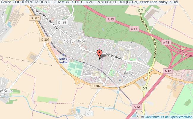 plan association Coproprietaires De Chambres De Service A Noisy Le Roi (ccsn) Noisy-le-Roi