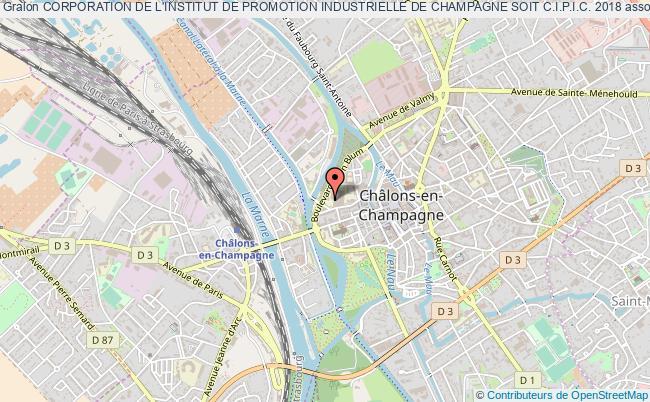 plan association Corporation De L'institut De Promotion Industrielle De Champagne Soit C.i.p.i.c. 2018