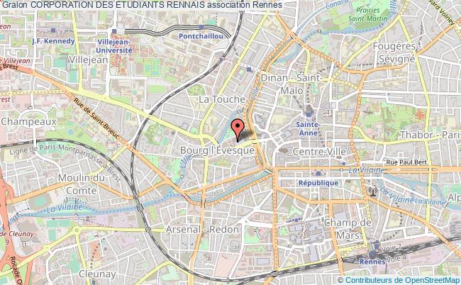 plan association Corporation Des Etudiants Rennais