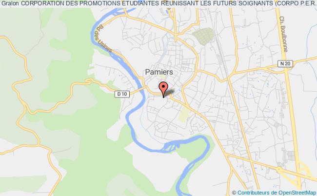 plan association Corporation Des Promotions Etudiantes Reunissant Les Futurs Soignants (corpo P.e.r.f.s.)