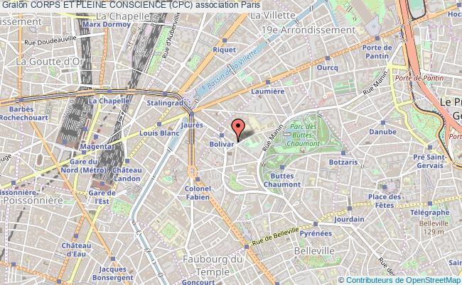 plan association Corps Et Pleine Conscience (cpc)