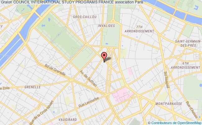 plan association Council International Study Programs France