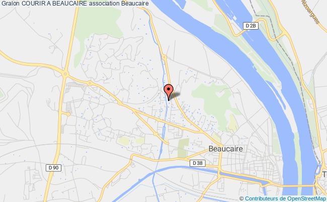 plan association Courir A Beaucaire