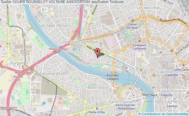 plan association Cours Rousselot Voltaire Association