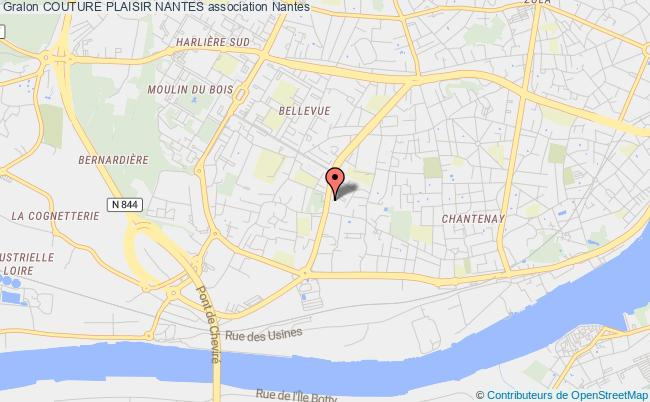 plan association Couture Plaisir Nantes
