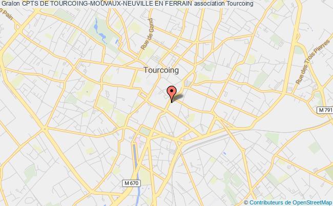 plan association Cpts De Tourcoing-mouvaux-neuville En Ferrain