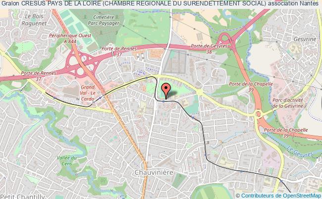 plan association Cresus Pays De La Loire (chambre Regionale Du Surendettement Social)
