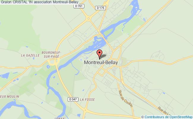 plan association Cristal 'in Montreuil-Bellay